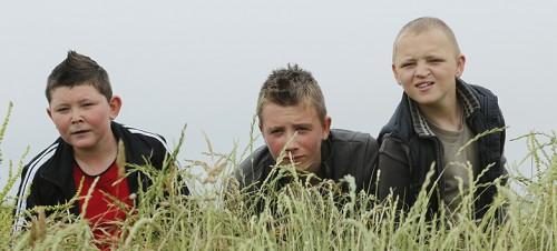 Julien Bodard, Corentin Carpentier et Alane Delhaye