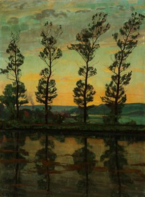 einar_wegener_poplerne_ved_hobro_1909
