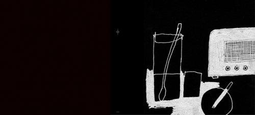 Illustrasjon. Egil Haraldsen | Fra omslaget til Øystein Olausens album Radiodager