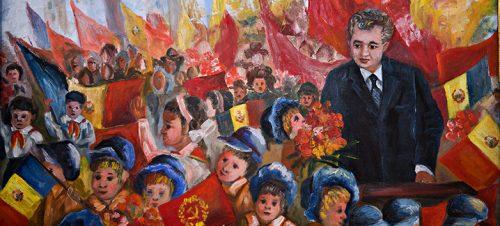 Ukjent kunstner. Bildet er avfotografert fra Museum for kommunismens og motstandskampens ofre i Sighet.