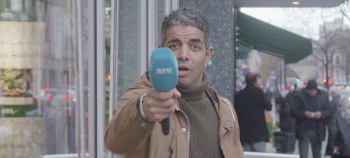 Svart Humor, Yousef Hadaoui. Foto: NRK