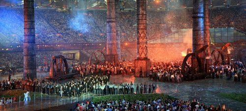 Isles of Wonder. Åpningsseremonien til de olympiske lekene i 2012. Danny Boyle