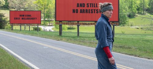 Three Billboards Outside Ebbing Missouri. Martin McDonagh 2017