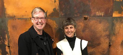 Nellie Wild og Gunnar Iversen i Toronto